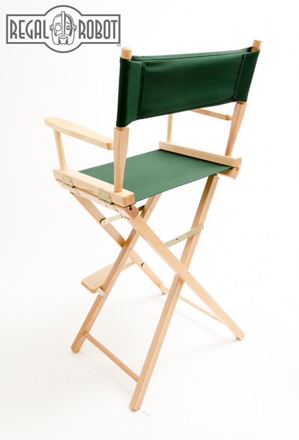 30 Bar Height Directors Chair Regal Robot