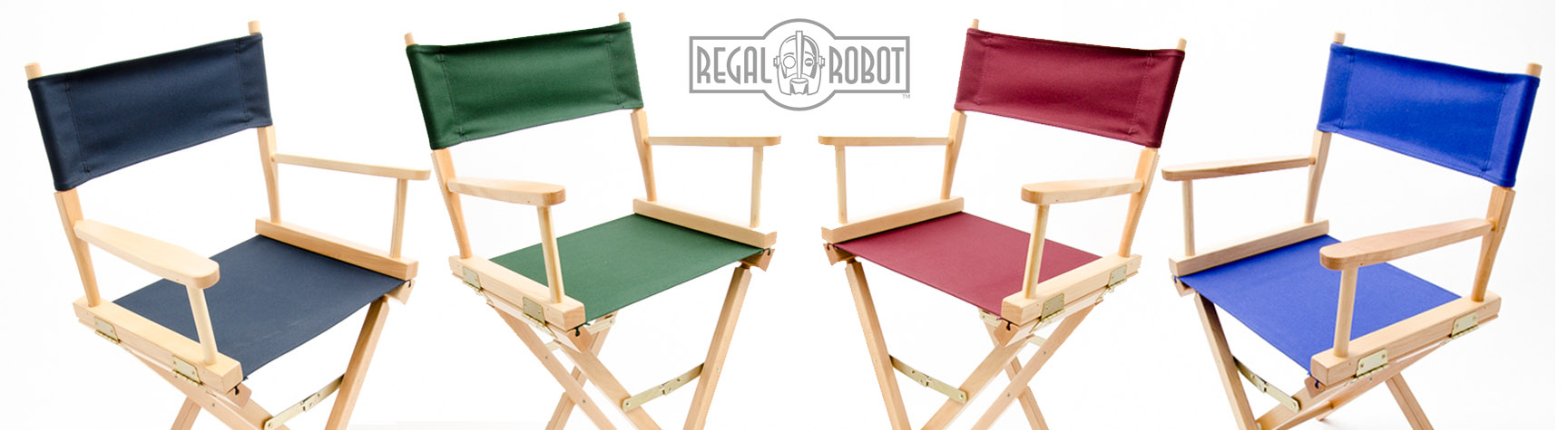old hollywood style directors chairs