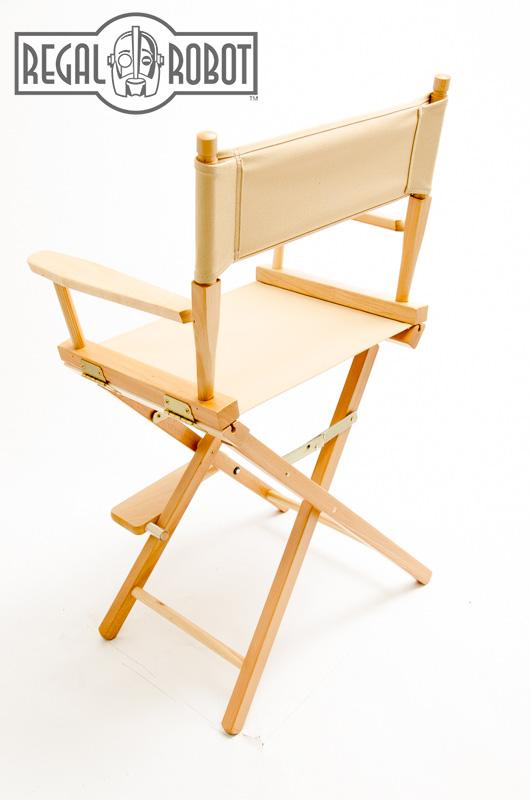 24 Counter Height Directors Chair Regal Robot