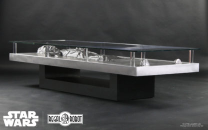 Han solo carbonite movie prop coffee table furniture