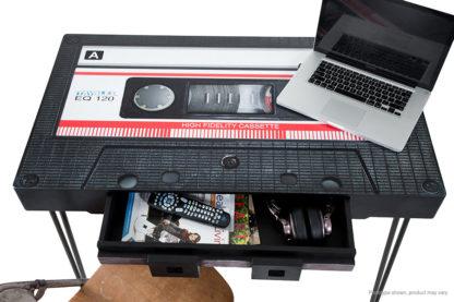 retro style casette tape table or desk