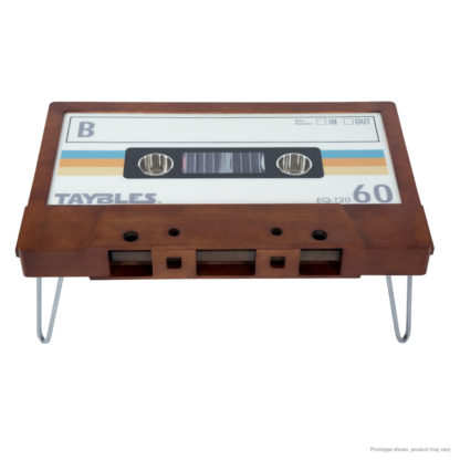 80's mix tape inspired coffee table