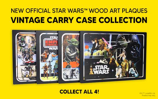 star wars wood plaque art