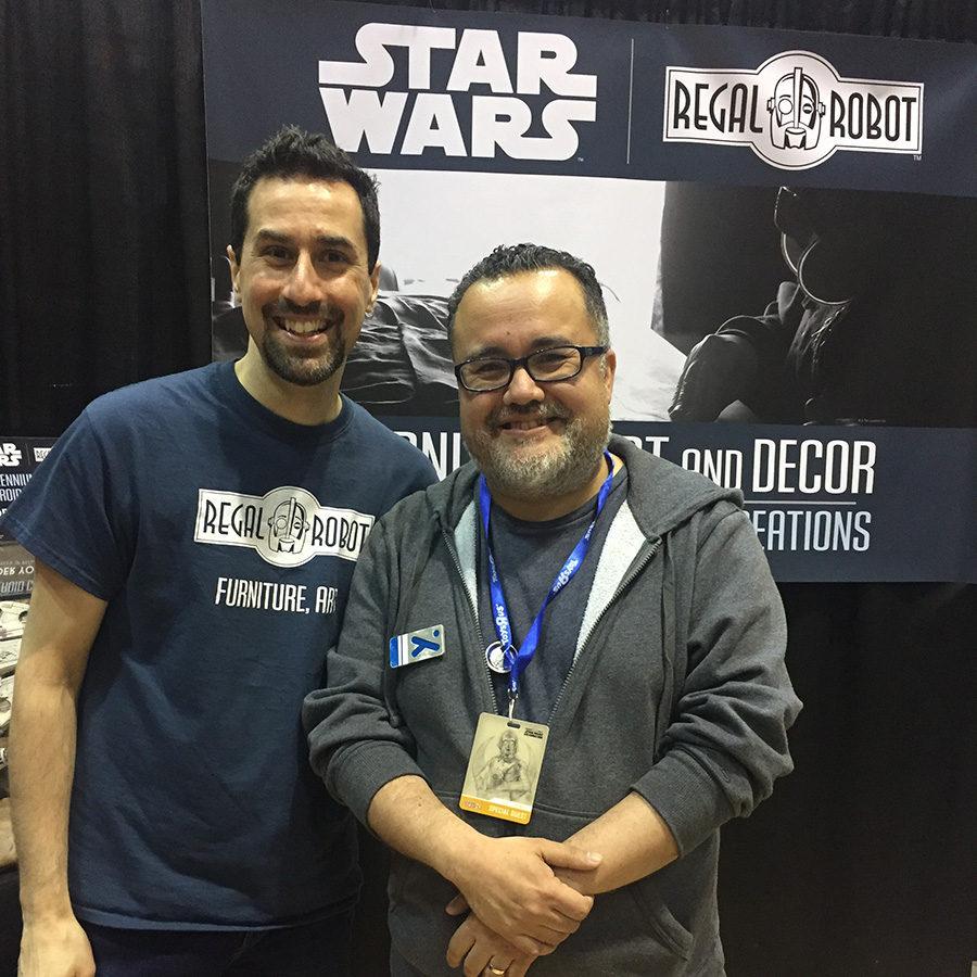 Pablo Hidalgo and Tom Spina at Star Wars Celebration