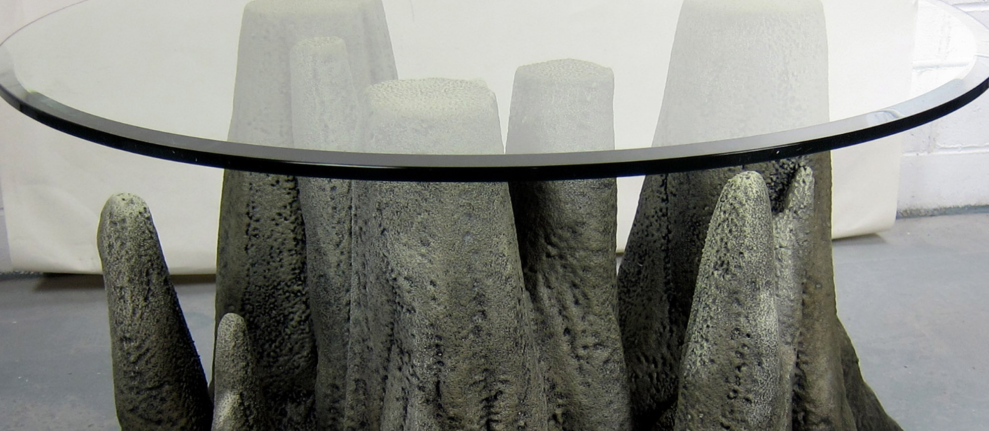 cave themed table
