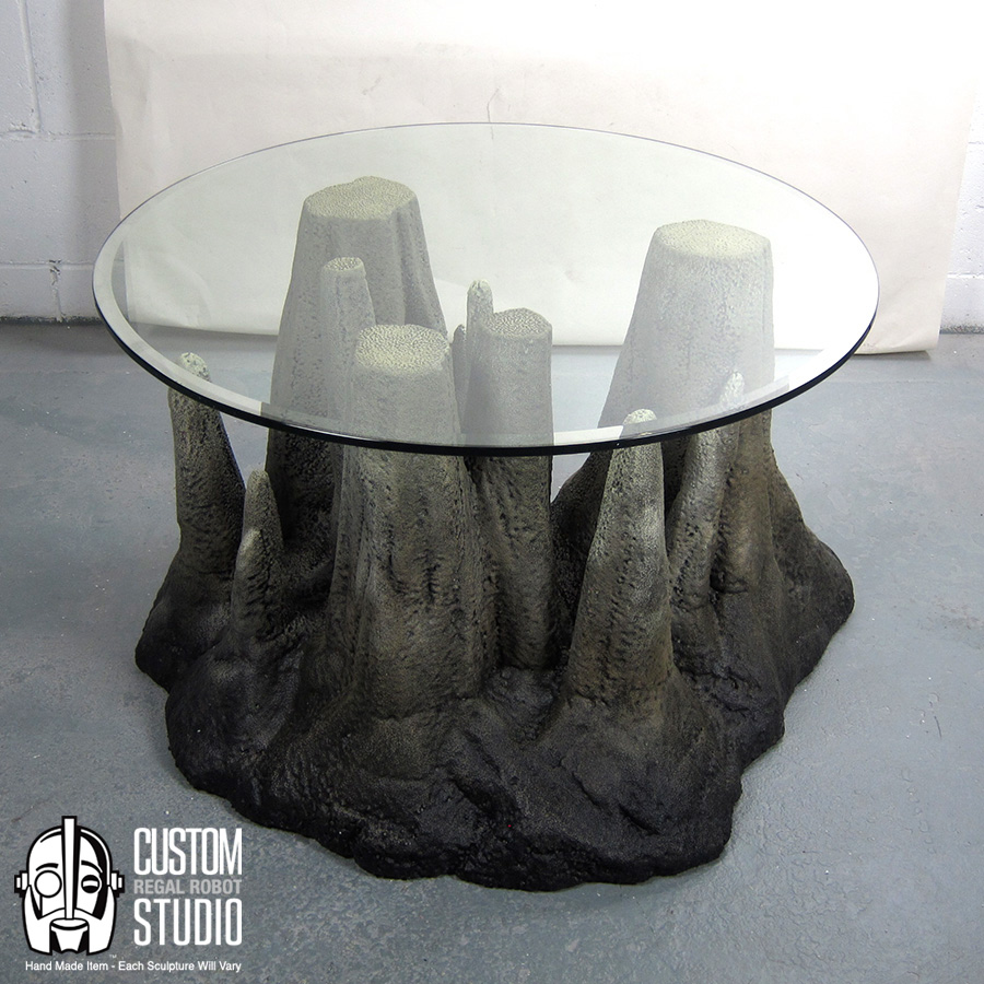 Hand Made Faux Rock Coffee Table Or Side