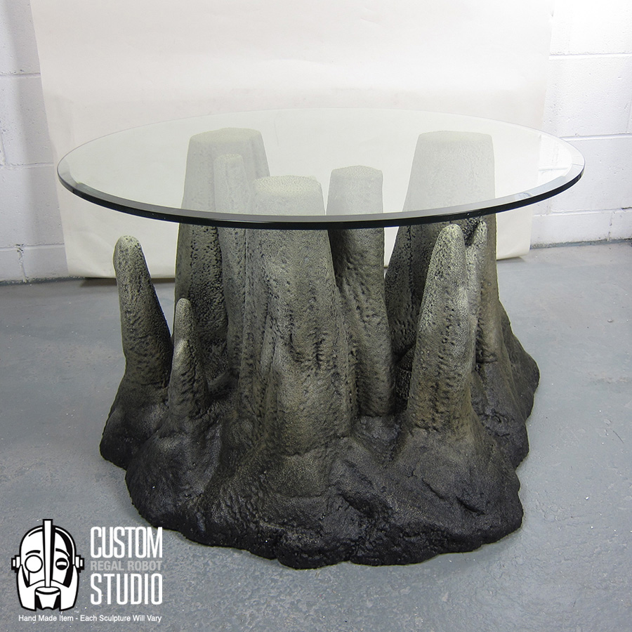 Stalagtable Hand Made Faux Rock Coffee Table Or Side