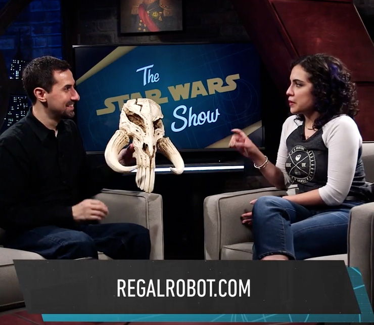 Tom Spina on the Star Wars Show