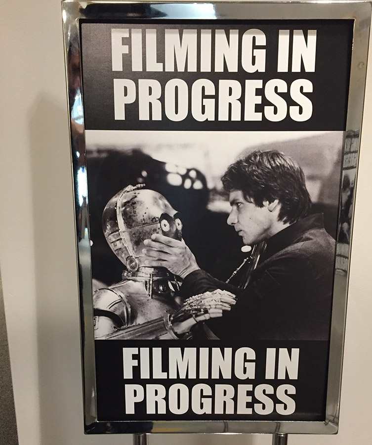 Han and C-3PO shhh poster