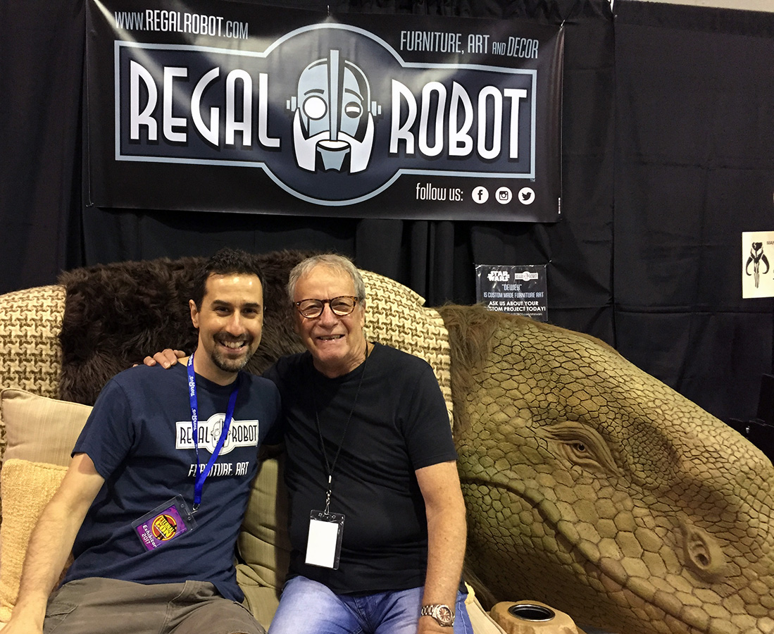 Paul Blake from the cantina with Tom Spina