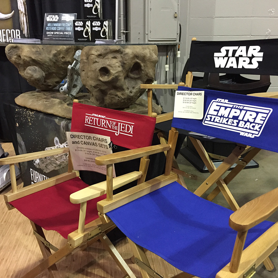 star wars directors chairs and chairbacks