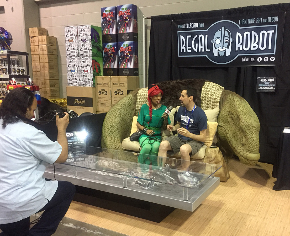 Tom Spina interview about Regal Robot