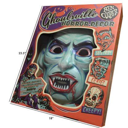 Dracula Halloween wall art mask
