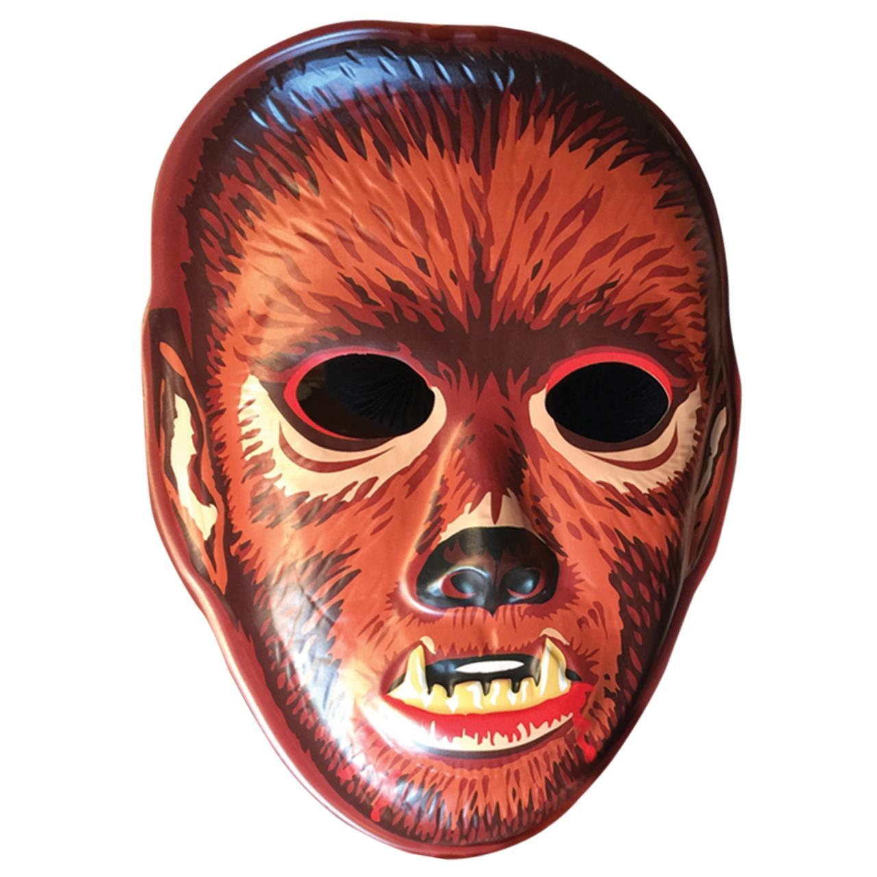 Bloody Werewolf Vac Tastic Plastic Mask Wall Decor Retired