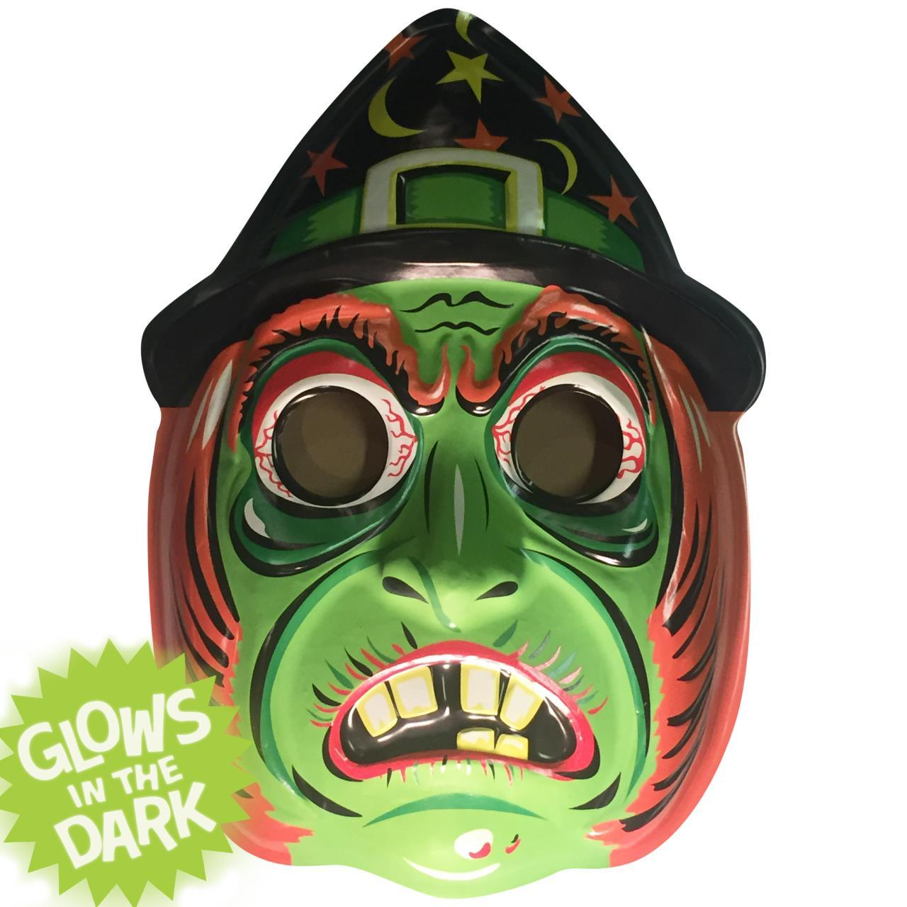 869838b663d Classic Witch Vac-tastic Plastic Mask Wall Decor
