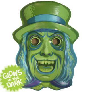 Haunted mansion style halloween mask decor