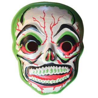 Sugar skull mask wall art