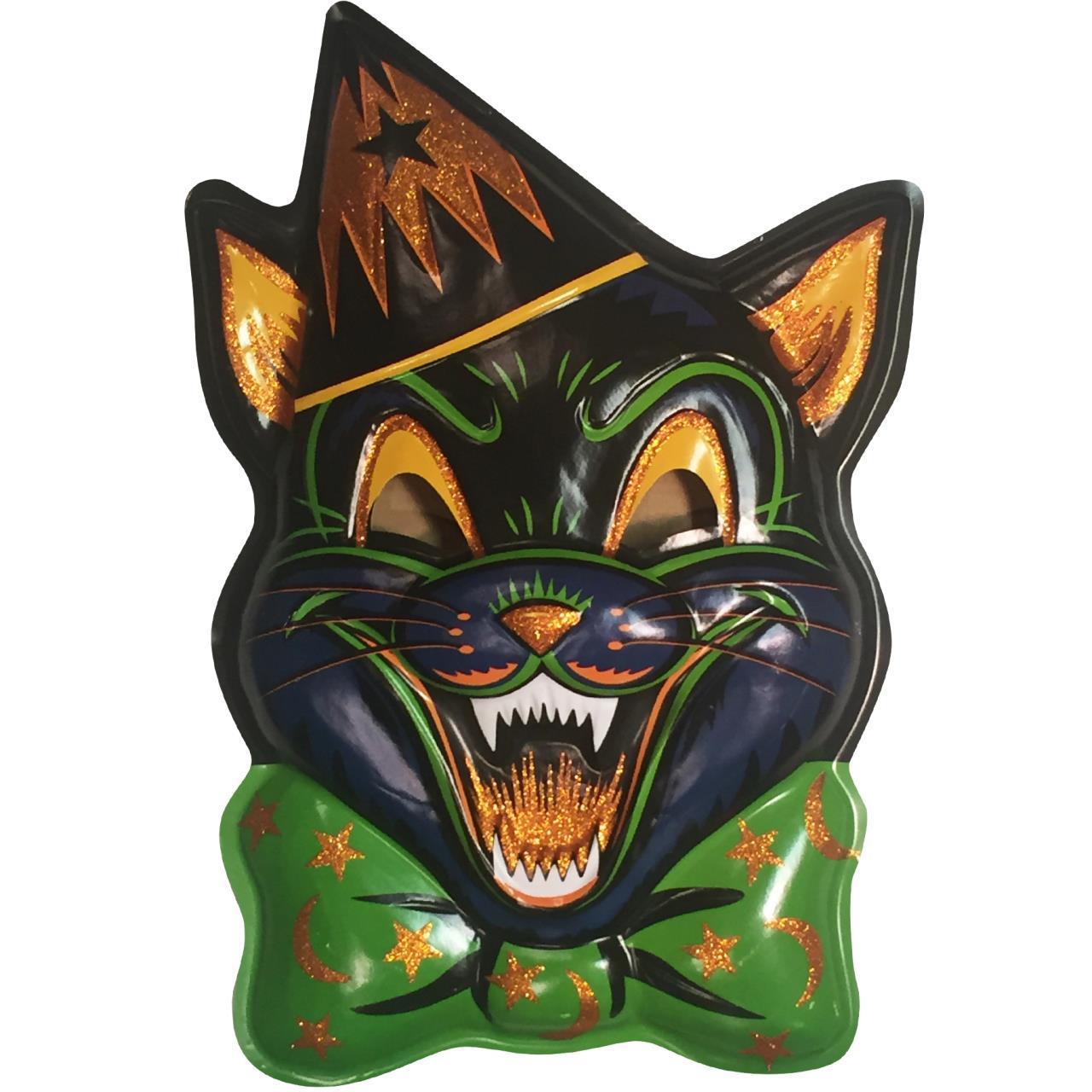 Magic Glitter Cat Vac-tastic Plastic Mask Wall Decor ...