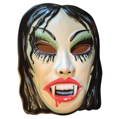 vampire mask Halloween decoration