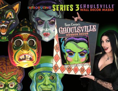 ghoulsville series three masks