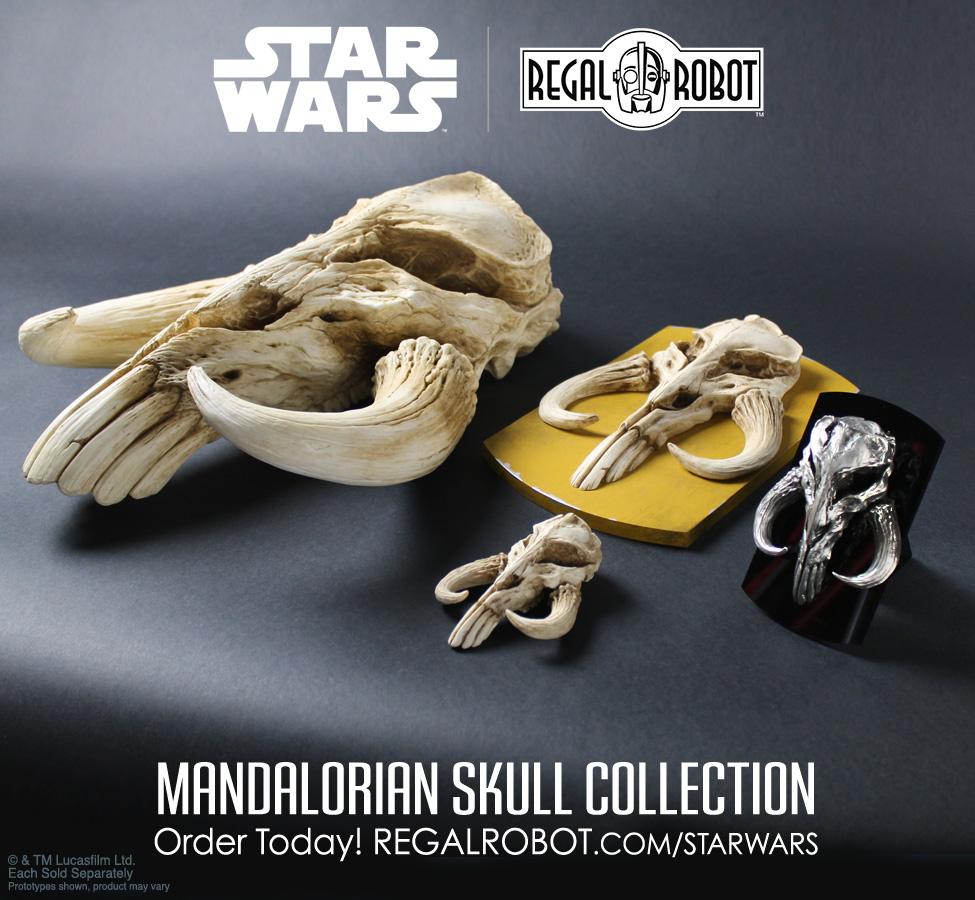 licensed mythosaur skull decor