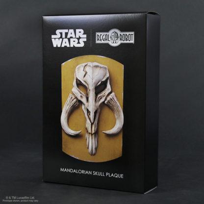boba fett skull plaque emblem