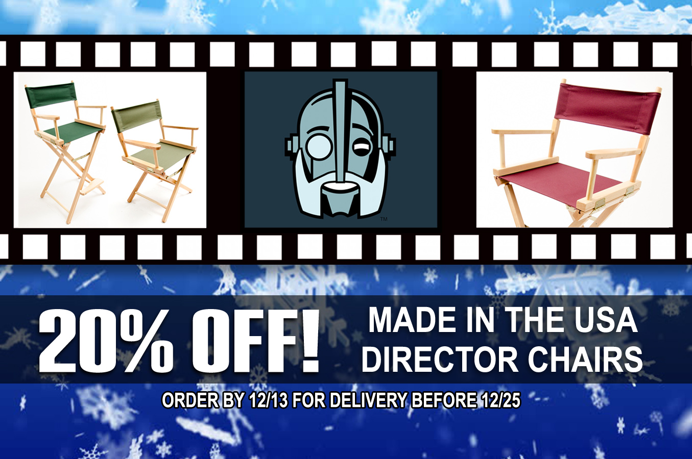 director chairs holiday sale