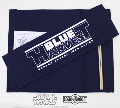 Blue Harvest director's chair crew gear style