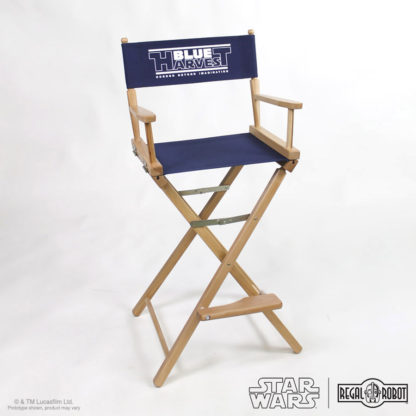 Star Wars furniture for adults, Blue Harvest director's chair crew gear style