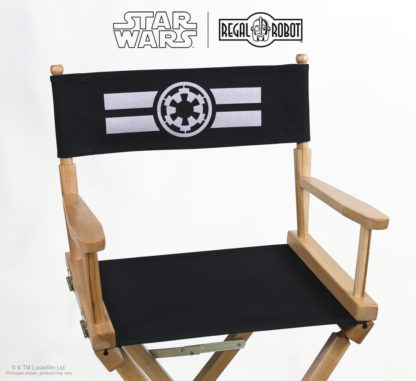 Imperial Cog logo movie director's chair