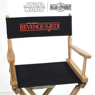 Revenge of the Jedi movie director's chairs
