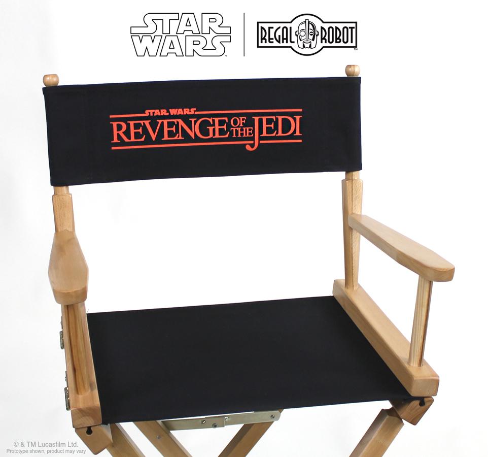 Revenge of the Jedi Star Wars™ Directors Chairs