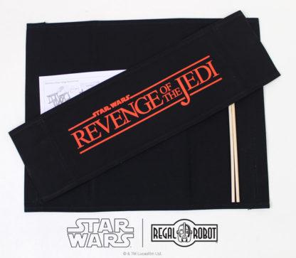 Star Wars Revenge of the Jedi logo director's chair