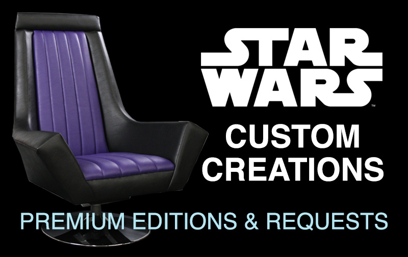 star wars furniture for adults - emperor's throne lounge chair