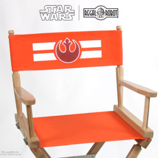 Star Wars furniture for adults, Rebel logo director's chair