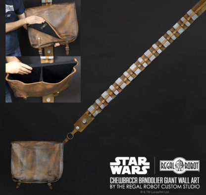 chewbacca bandolier and bag