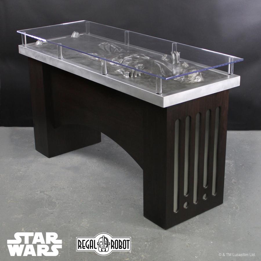 Millennium Falcon Stools Amp Han Solo Carbonite Table