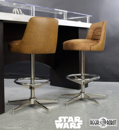 Stools inspired by Han Solo's Millennium Falcon™