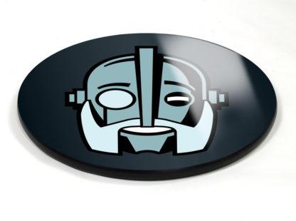 Robot logo table