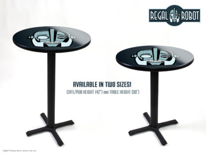 cafe or table height photo printed tables