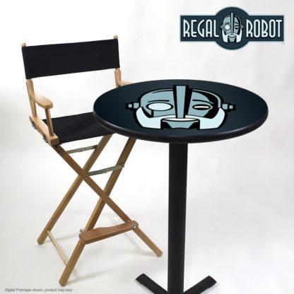 Vintage robot head table