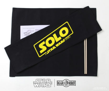 Han Solo movie director's chair canvas set