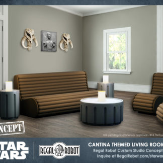 Amazing Custom Star Wars Furniture Art And Decor By Regal Robot