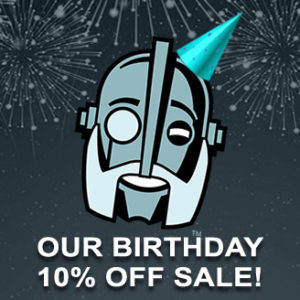 coupon for Regal Robot site