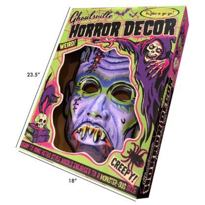 wall art and home decor halloween mask