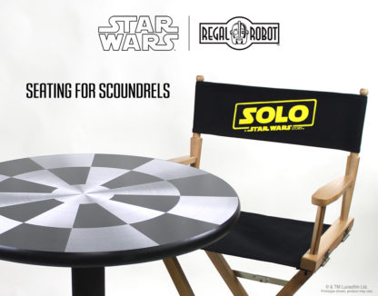 movie directors chair for Solo: A Star Wars Story