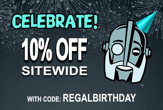 Regal Robot coupon birthday sale