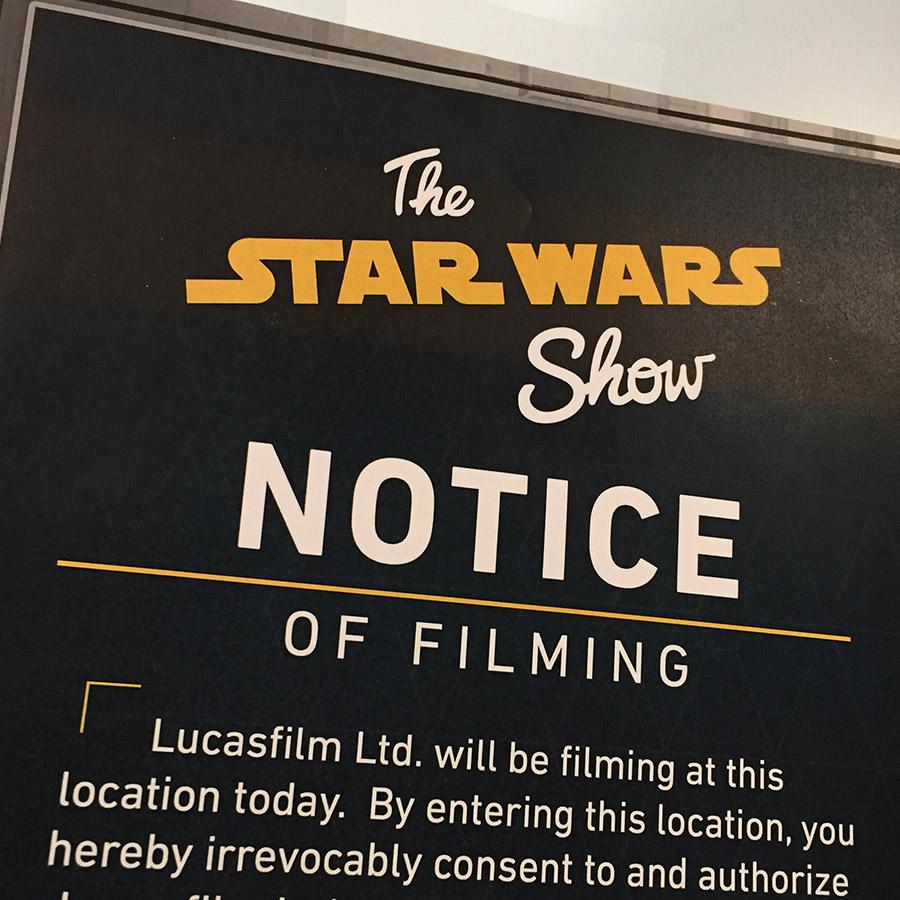 Star Wars online show