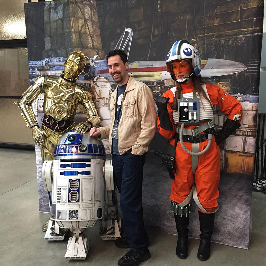 Star Wars photo op