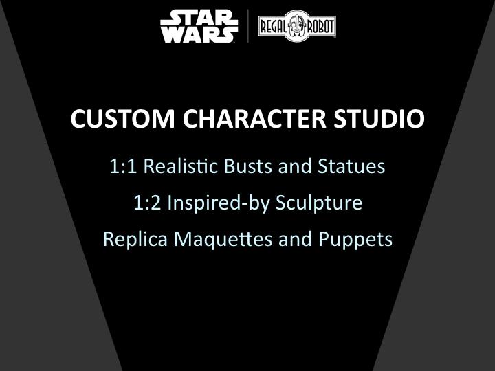 Regal Robot Star Wars sculpture and prop replicas